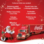 Ciężarówka Coca-Cola plakat